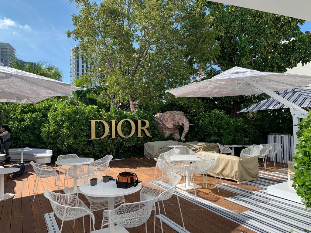 Poggesi per il Dior Cafè di Miami Poggesi