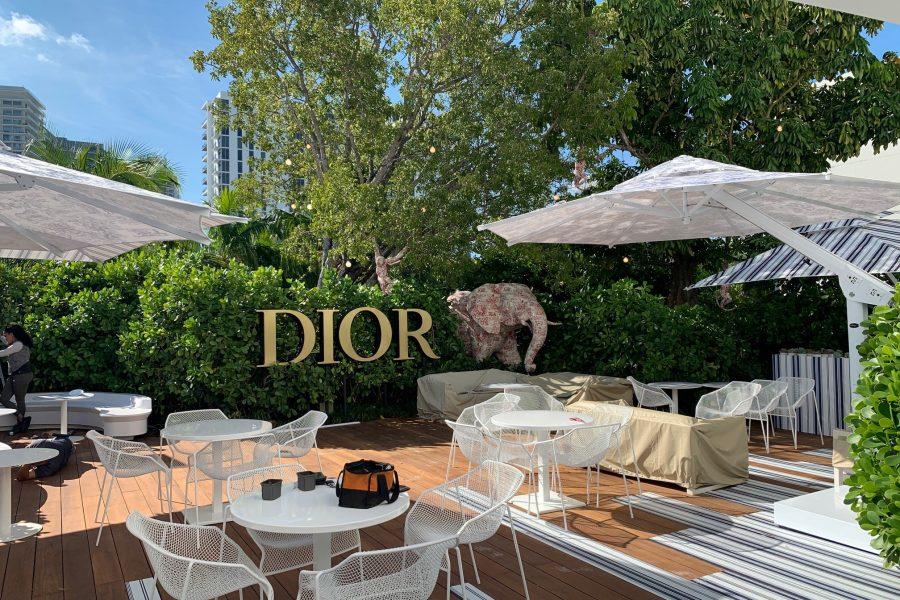 Poggesi per il Dior Cafè di Miami